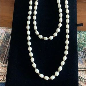 Chico's double strand of pearls